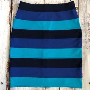 Lily Pulitzer Striped Mini Pencil Skirt, XS